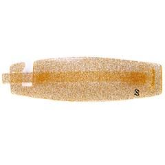Fivela com Palito Paola Grande Glitter Dourado