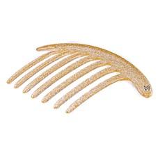 Pente Júpter Glitter Dourado