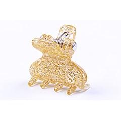 Prendedor Bali Small Glitter Dourado