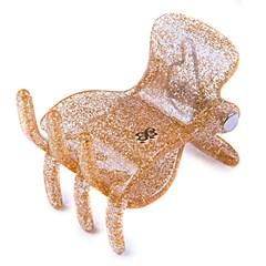 Prendedor Bang Kok Medium Glitter Dourado
