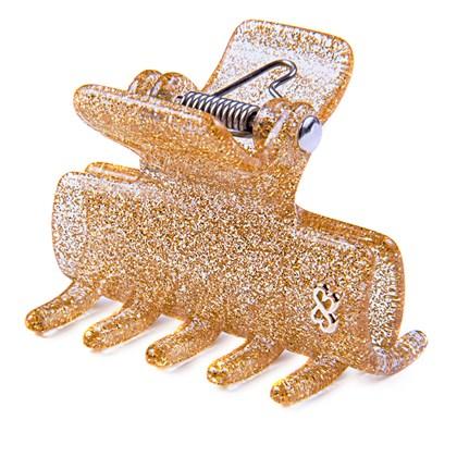 Prendedor Berlin Medium Glitter Dourado
