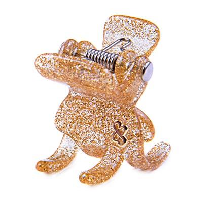 Prendedor Las Vegas Small Glitter Dourado