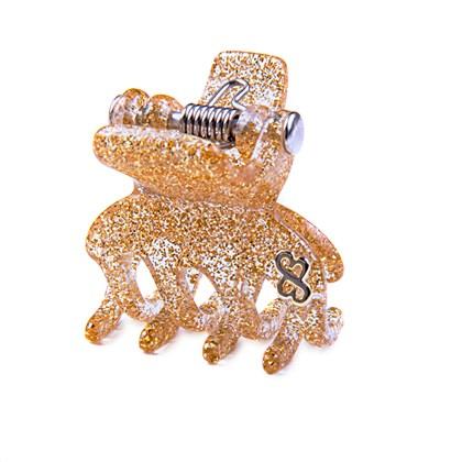Prendedor London Small Glitter Dourado