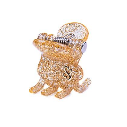 Prendedor Milano Small Glitter Dourado