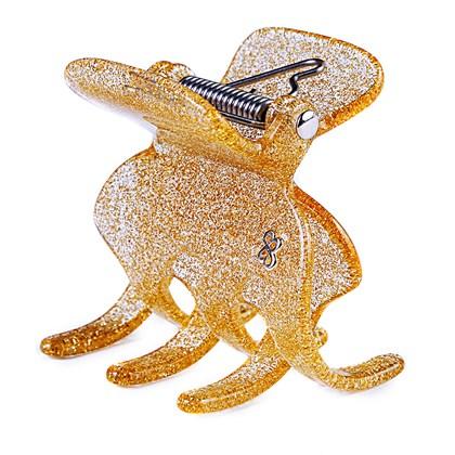 Prendedor Rome Extra Large Glitter Dourado