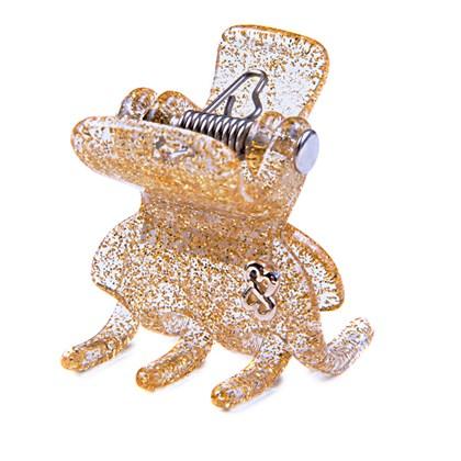 Prendedor Rome Medium Glitter Dourado