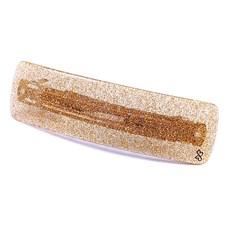 Presilha Catarina Grande Glitter Dourado