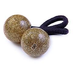 Rabicó Duo Ball Médio Glitter Dourado