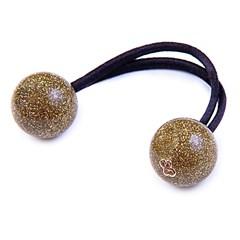 Rabicó Duo Ball Pequeno Glitter Dourado