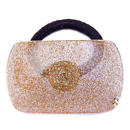 Rabicó Geometric Glitter Dourado
