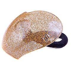 Rabicó Heart Glitter Dourado