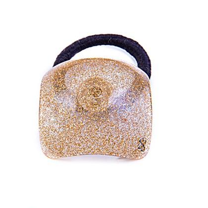 Rabicó Square Glitter Dourado