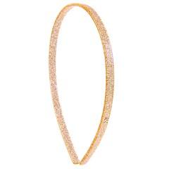Tiara Camila Glitter Dourado