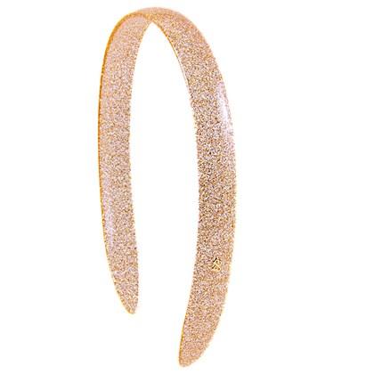 Tiara Jéssica Glitter Dourado
